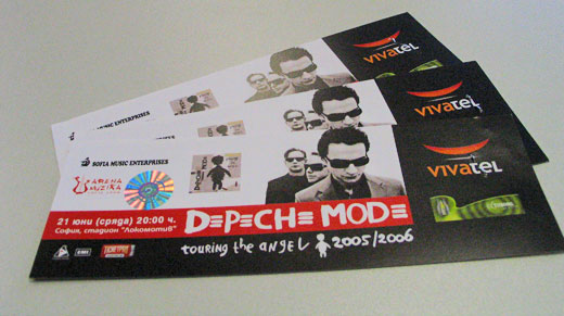 my depeche mode tickets mindabouts. Black Bedroom Furniture Sets. Home Design Ideas
